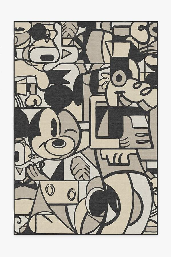 Or how about the Mickey & Friends rug for a little more of an abstract-meets-vintage motif?