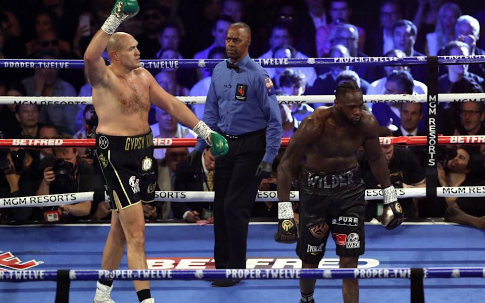 Fury's last fight saw him beat Deontay Wilder in February but he has been relishing training in lockdown - PA