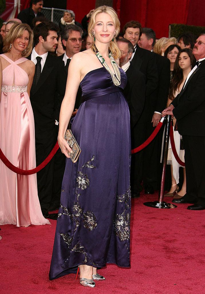 Cate Blanchett attends the 80th Annual Academy Awards in February 2008. Photo: Getty Images