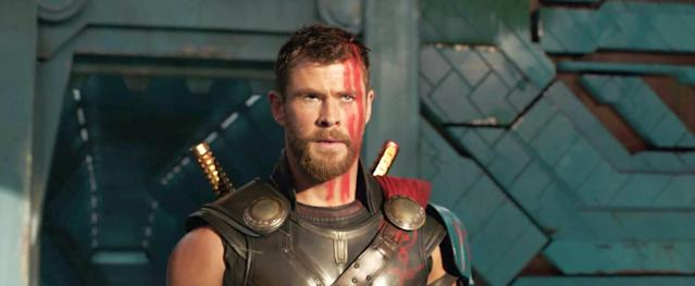 Chris Hemsworth in <em>Thor: Ragnarok.</em> (Photo: Walt Disney Studios Motion Pictures/courtesy Everett Collection)