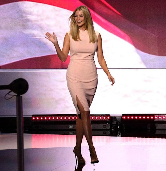 Ivanka Trump at the Republican National Convention. (Photo: David Hume Kennerly/Getty Images)