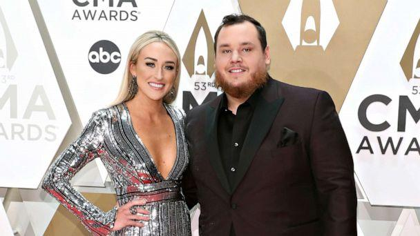 PHOTO: Nicole Hocking and Luke Combs attend the 53nd annual CMA Awards at Bridgestone Arena on Nov. 13, 2019, in Nashville, Tenn. (Taylor Hill/Getty Images)