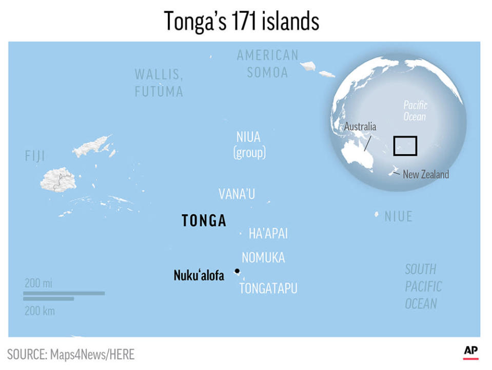 Tonga is a Polynesian kingdom of more than 170 South Pacific islands.. ;