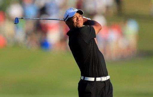 Tiger Woods during the second round of The Players Championship on May 11. Woods avoided what would have been the first back-to-back missed cuts of his pro career by firing a 68 to stand on two-under 142