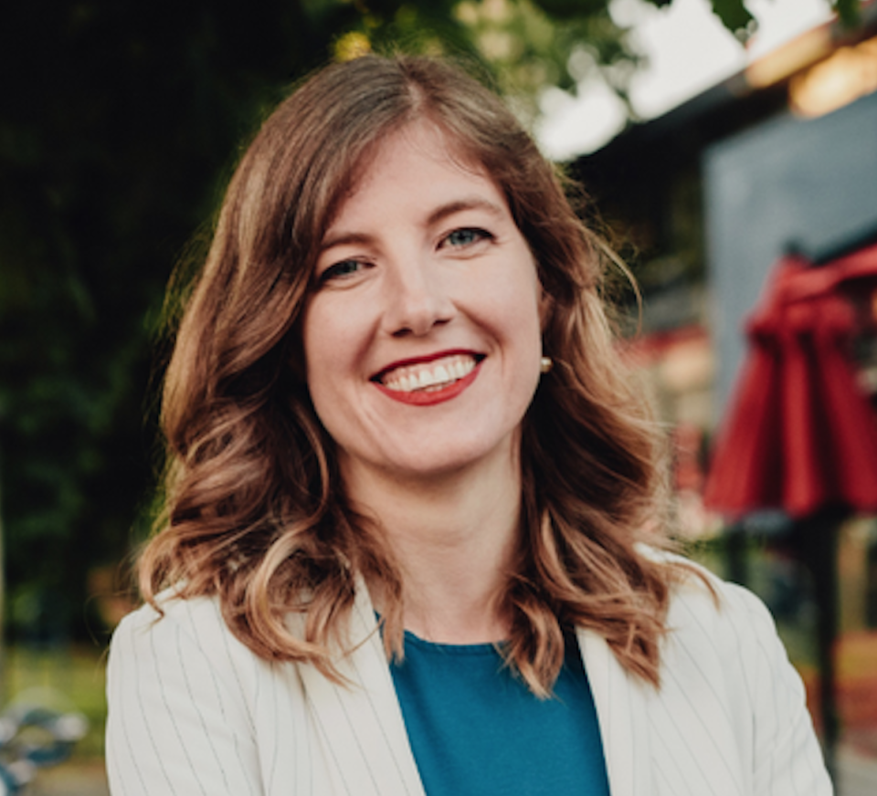 Laurel Collins, MP for Victoria, said politicians should prioritise what Canadian taxpayers' money is spent on (Picture: Twitter)