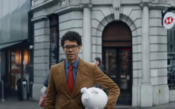 HSBC has recently launched its Open Banking-enabled app called Connected Money with a series of adverts starring Richard Ayoade - YouTube/HSBC