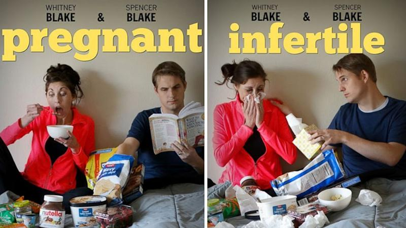 Couple's Infertility Announcements Document Journey Trying to Conceive