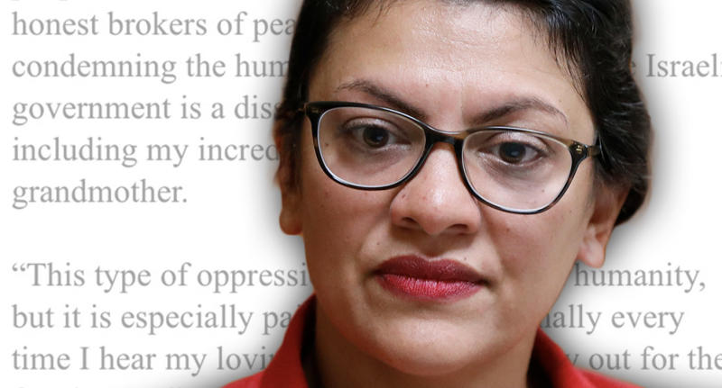Rep. Rashida Tlaib, D-Mich. (Photo illustration: Yahoo News; photo: AP)