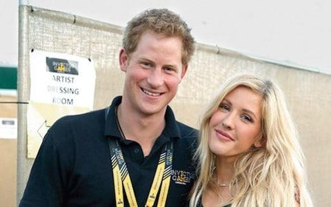 Ellie with Prince Harry - Credit: getty images