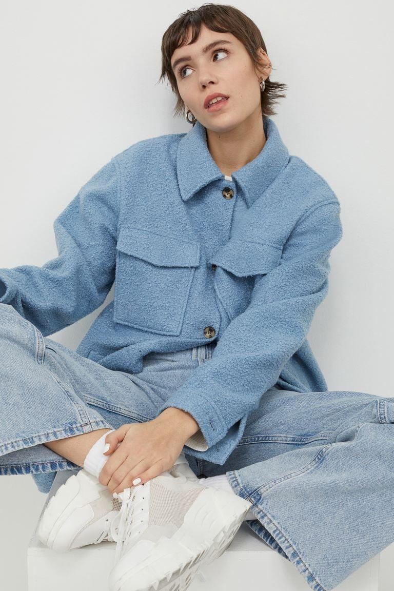 <p>Meet your new everyday BFF: the <span>Oversized Shirt Jacket</span> ($40).</p>