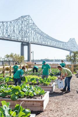 Subaru of America and the Philadelphia Union announced the Subaru Loves the Earth Garden for Good, the first sustainable and organic garden at a Philadelphia professional sports stadium.