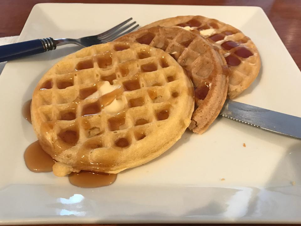 frozen waffle comparison all syrup.JPG