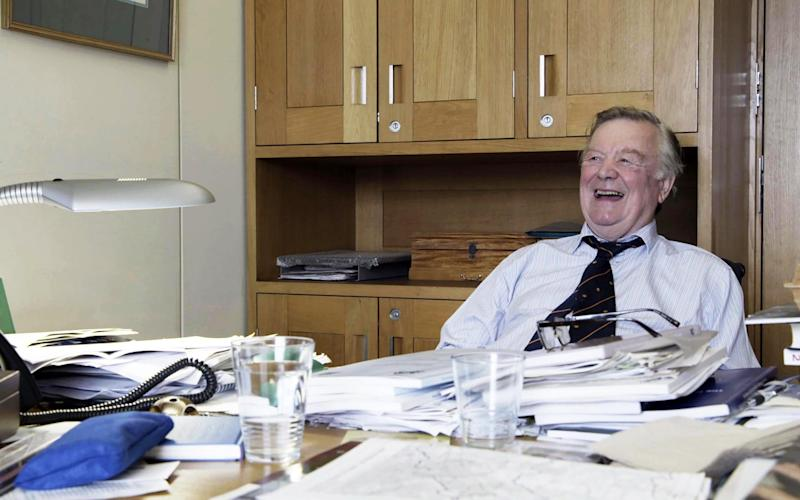 Kenneth Clarke inTories at War - (Channel 4 images must not be altered or manipulated in any way) This picture may be used solely for
