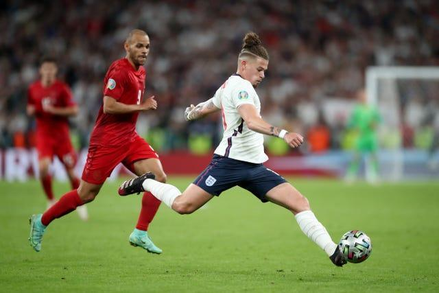 Phillips started in every game for England at Euro 2020