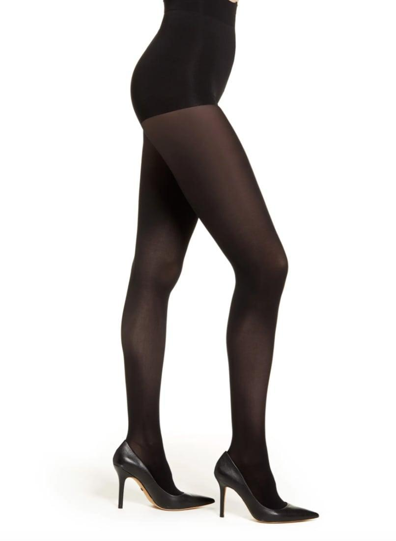 <p>Whether you're rocking a dress or hoping to make your miniskirts more seasonally appropriate, you're going to get a lot of mileage out of these <span>Natori Perfectly Opaque Tights</span> ($28).</p>