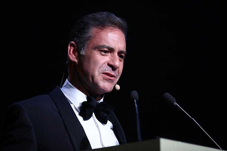 Andrew O'Keefe at the GQ Australia Men of the Year Awards