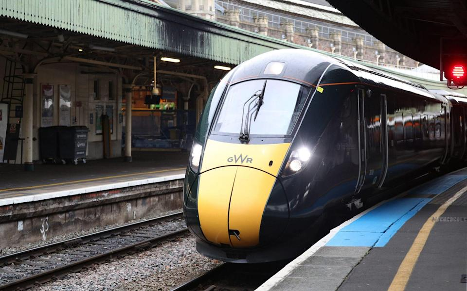 """Hitachi-built trains were pulled from lines in May as a """"precautionary measure"""" after cracks were found in some trains - Andrew Matthews/PA"""