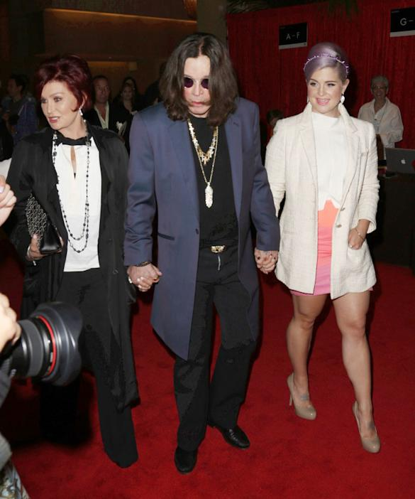 Sharon And Ozzy Osbourne Kiss And Make Up Following Marriage Rumours