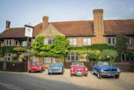 """<p>In a quiet corner of the New Forest, this country house hotel awaits guests who come to indulge on a rural getaway. <a href=""""https://go.redirectingat.com?id=127X1599956&url=https%3A%2F%2Fwww.booking.com%2Fhotel%2Fgb%2Fmontaguarms.en-gb.html%3Faid%3D2070929%26label%3Dhampshire-hotels&sref=https%3A%2F%2Fwww.redonline.co.uk%2Ftravel%2Fg37208550%2Fbest-hotels-hampshire%2F"""" rel=""""nofollow noopener"""" target=""""_blank"""" data-ylk=""""slk:The Montagu Arms"""" class=""""link rapid-noclick-resp"""">The Montagu Arms</a> boasts a leafy English garden and stylish dishes that showcase the rich larder of the New Forest, coast and country at the Terrace Restaurant. The rooms are beautiful and homely, with country-chic interiors, and at Monty's Inn, you can relax as you sip real ales from Ringwood brewery or local gin from Lymington.</p><p><a class=""""link rapid-noclick-resp"""" href=""""https://go.redirectingat.com?id=127X1599956&url=https%3A%2F%2Fwww.booking.com%2Fhotel%2Fgb%2Fmontaguarms.en-gb.html%3Faid%3D2070929%26label%3Dhampshire-hotels&sref=https%3A%2F%2Fwww.redonline.co.uk%2Ftravel%2Fg37208550%2Fbest-hotels-hampshire%2F"""" rel=""""nofollow noopener"""" target=""""_blank"""" data-ylk=""""slk:CHECK AVAILABILITY"""">CHECK AVAILABILITY</a></p>"""