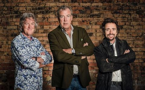 James May, Jeremy Clarkson and Richard Hammond in their day job