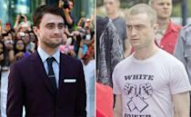 <p>It was skinhead vibes for the Harry Potter star in the white supremacist thriller. </p>