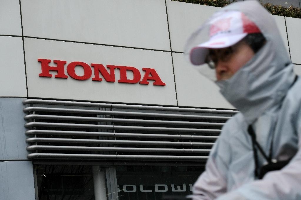 Honda, Japan's third largest automaker, has reported improved results thanks to US corporate tax cuts and brisk sales (AFP Photo/Kazuhiro NOGI)