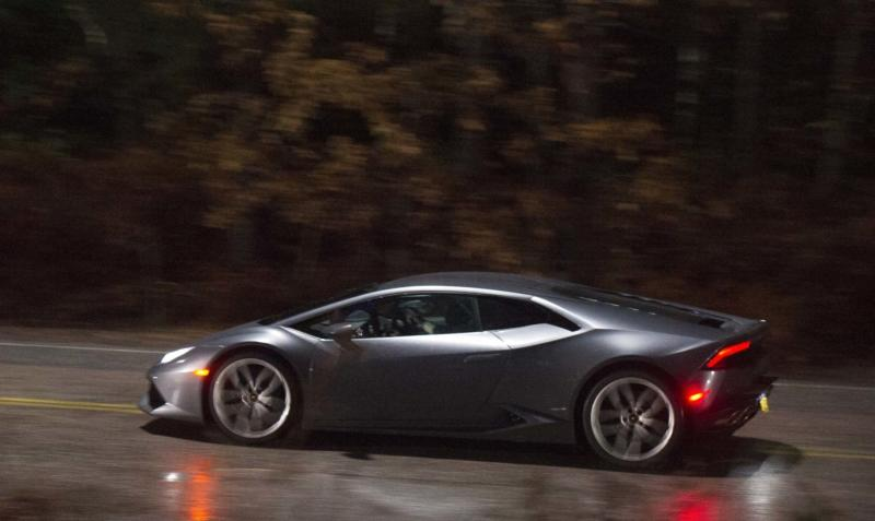 The Huracan, as seen during the filming of Doctor Strange.