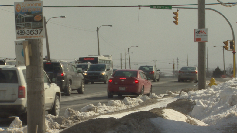All St. John's intersections have working traffic lights, albeit some not perfectly