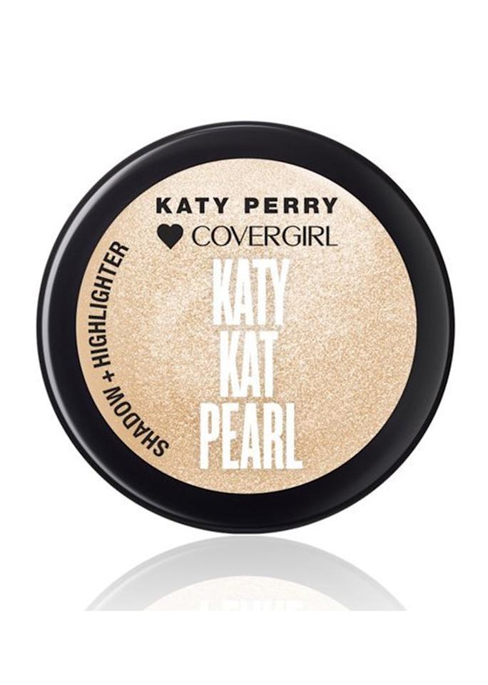 "CoverGirl Katy Kat Pearl Shadow + Highlighter, $8.99; at <a rel=""nofollow"" href=""http://www.ulta.com/katy-kat-pearl-shadow-highlighter?productId=xlsImpprod15711065"" rel="""">Ulta</a>"