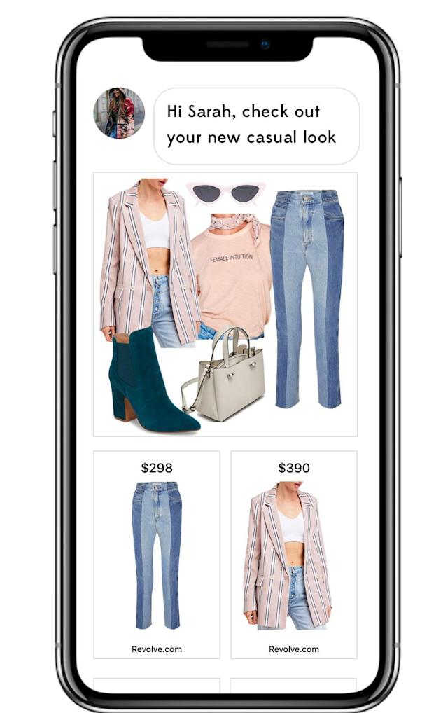 A new styling app called Wishi provides on-demand stylists at your fingertips. (Photo: Courtesy of Wishi)