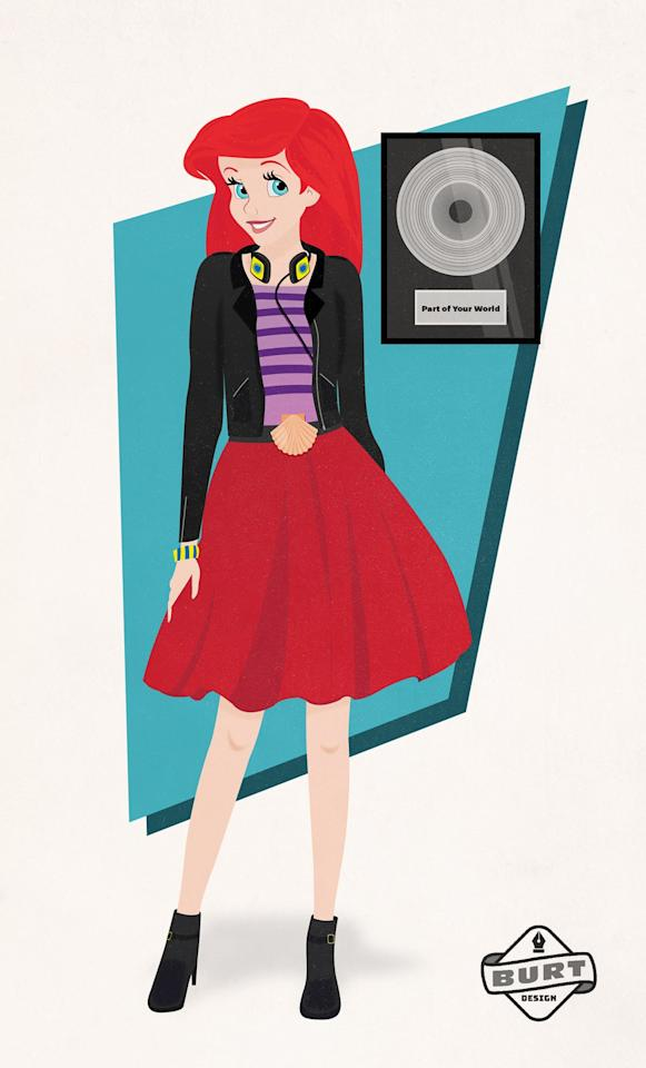 """<p><strong>Matt's explanation:</strong> """"Ariel has always excelled in music, having natural talent and a passion for singing. Considered the best of her talented sisters, Ariel took her skills and made it her career. She went multiplatinum with her single, 'Part of Your World,' and now both writes her own music and is a producer at her own label, Seven Seas Records.""""</p>"""