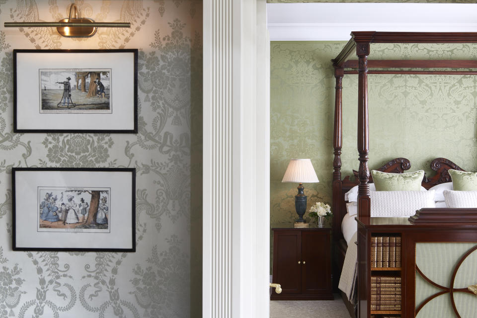 The royal suite, where Kate stayed the night before her wedding. (Goring Hotel)