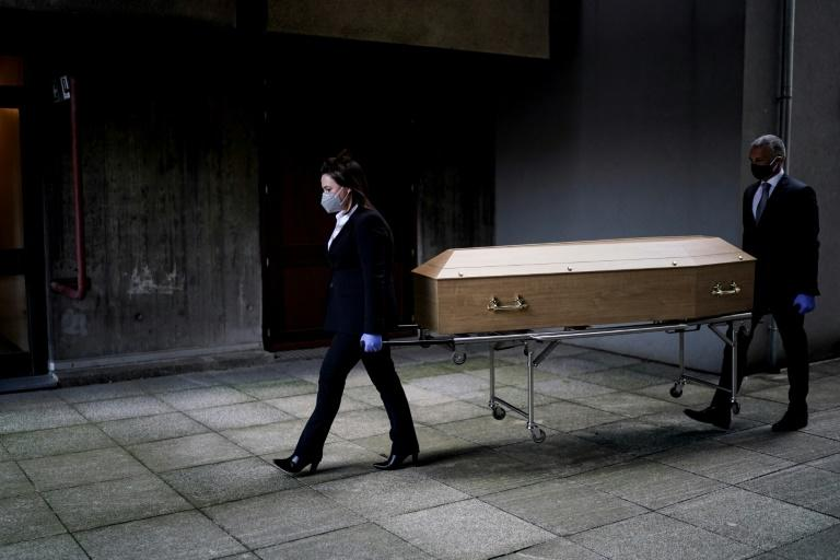 It is a busy but stressful time for Belgium's funeral parlours