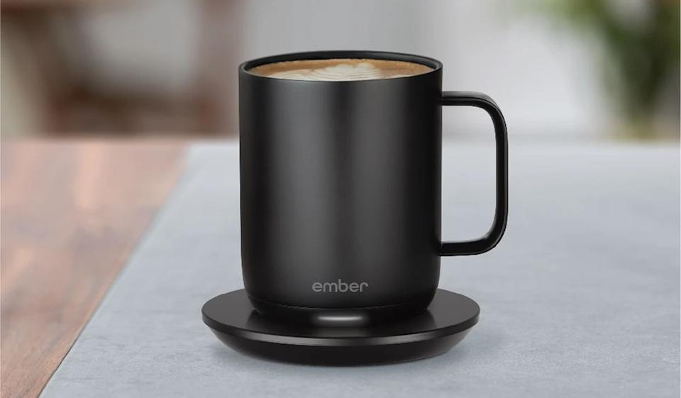 The self-heating Ember Mug is one of the greatest coffee inventions, well, ever. (Photo: Ember)