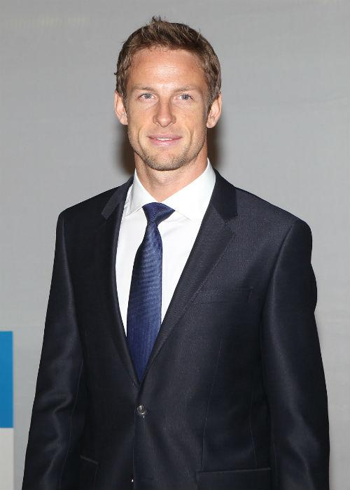 Formula 1 driver Jenson Button drove into sixth place as the best dressed suit wearer closely followed by Princes Harry and William.