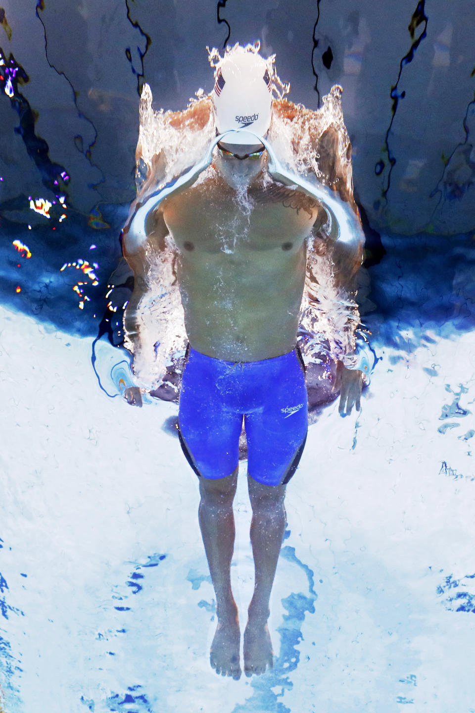 <p>TOKYO, JAPAN - JULY 29: Caeleb Dressel of Team United States competes in the Men's 100m Butterfly heats on day six of the Tokyo 2020 Olympic Games at Tokyo Aquatics Centre on July 29, 2021 in Tokyo, Japan. (Photo by Al Bello/Getty Images)</p>