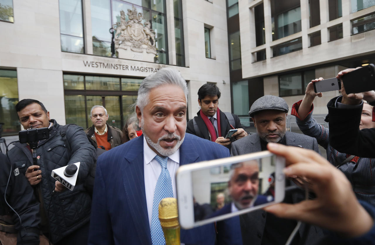 """<p><strong>#8.</strong> Vijay Mallya: On the run from Indian authorities for the non-payment of Rs 9,000 crore to various banks, the former liquor baron, holed up in London, was arrested and released on bail twice this year. Having failed to appear before India's Supreme Court, Mallya maintained throughout that he had done """"absolutely nothing wrong"""". </p>"""