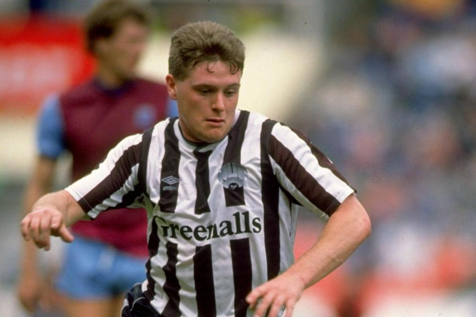 Roeder took Paul Gascoigne under his wing at NewcastleGetty Images