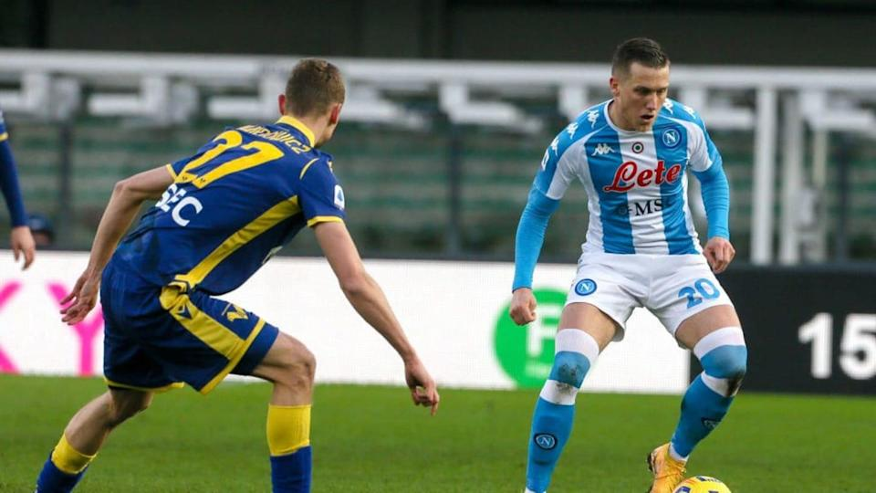 Zielinski in azione a Verona | BSR Agency/Getty Images