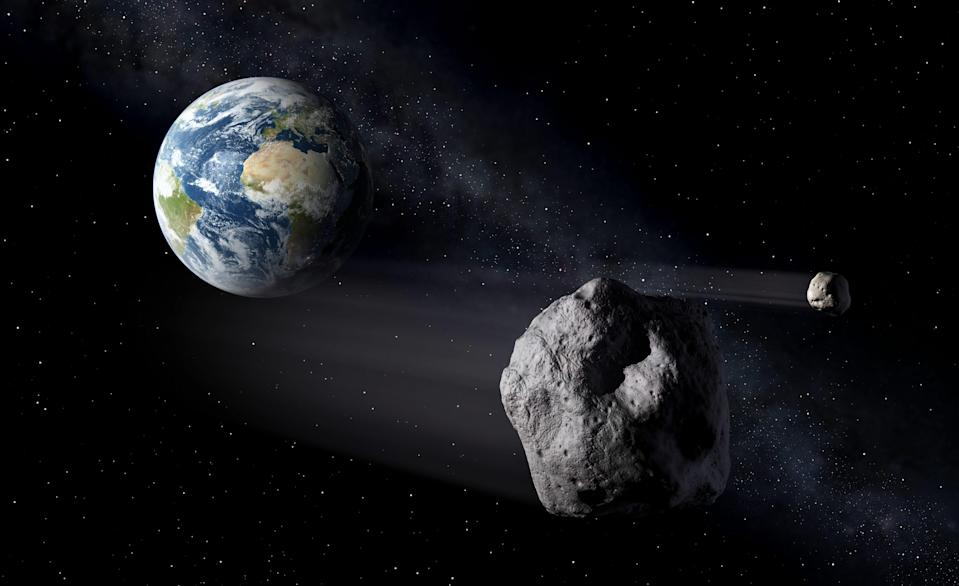 asteroid earth fly by