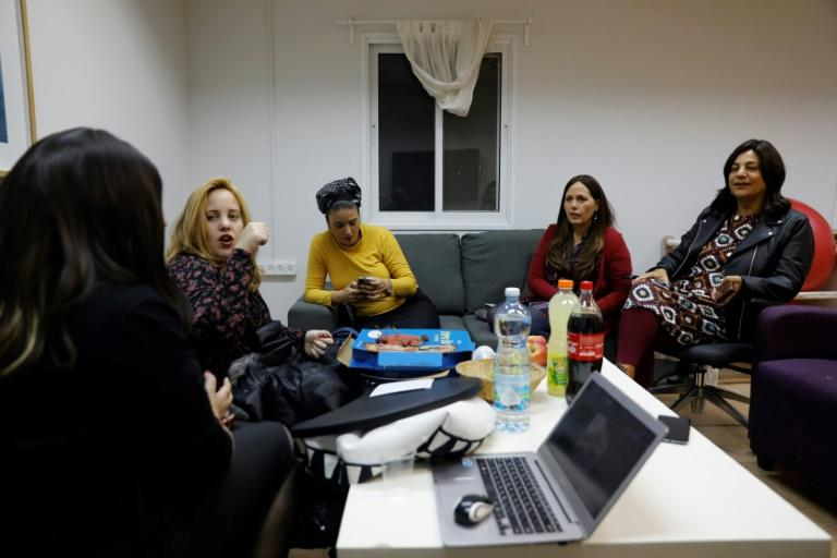 Ultra-Orthodox Israeli women are daring to break a taboo and launching an awareness campaign to counter violence against them within their own communities (AFP Photo/MENAHEM KAHANA)