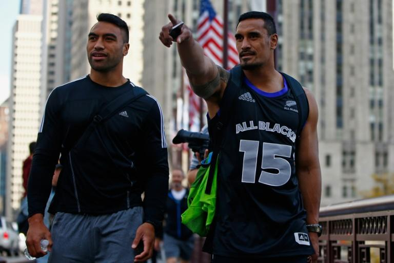 Victor Vito (L) and Jerome Kaino (R) have 114 New Zealand caps between them