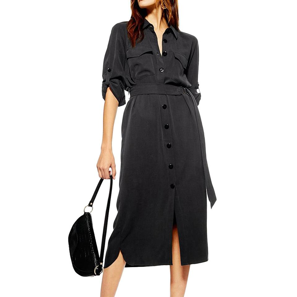 Made with a sustainably sourced fiber, this versatile staple is the LBD of shirt dresses. (Photo: Nordstrom)