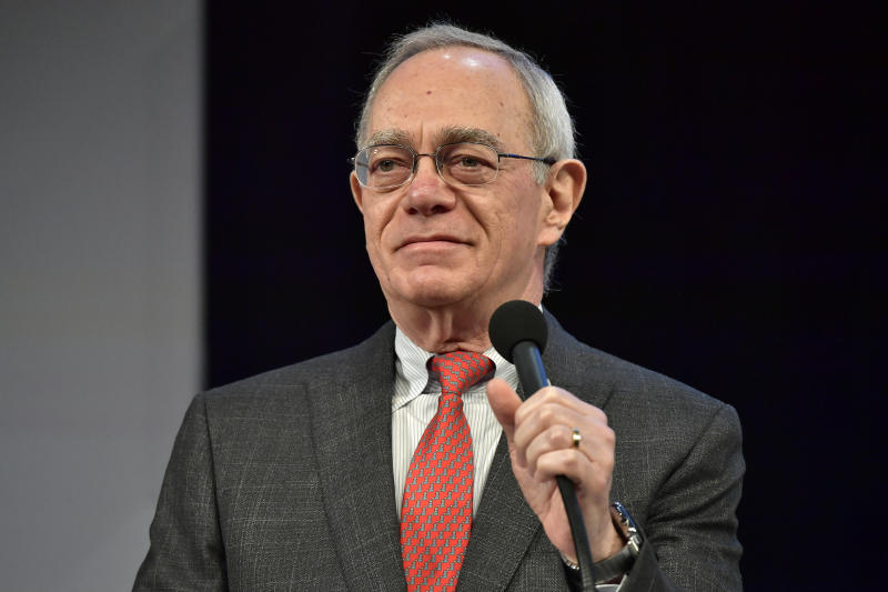 CAMBRIDGE, MA - MAY 18: MIT President L. Rafael Reif speaks at the 'Solve At MIT: Plenary - True Stories Of Starting Up' at Massachusetts Institute of Technology on May 18, 2018 in Cambridge, Massachusetts. (Photo by Paul Marotta/Getty Images for MIT Solve)