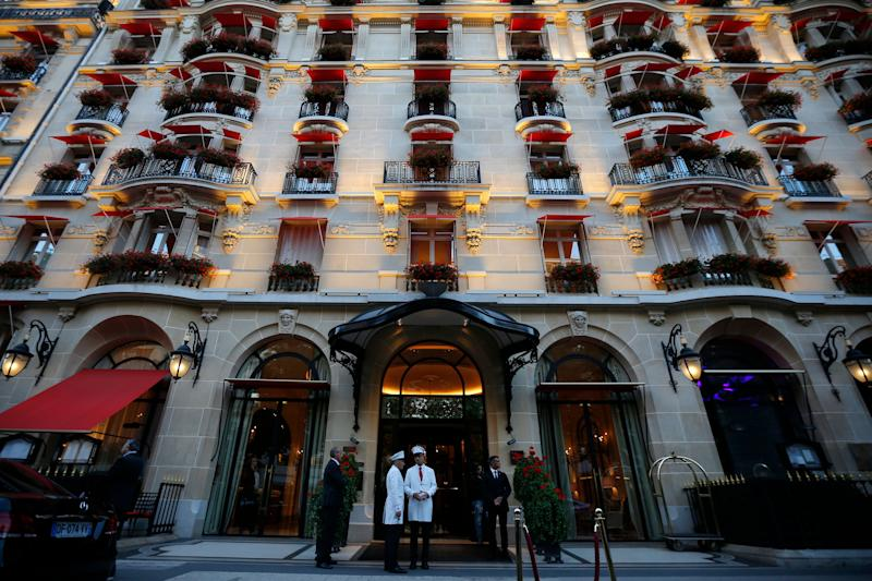 "Astrid and Charlie stayed together at the Hotel George V (now the <a href=""https://www.fourseasons.com/paris/"" target=""_blank"" rel=""noopener noreferrer"">Four Seasons Hotel, George V</a>) in Paris in 1995."