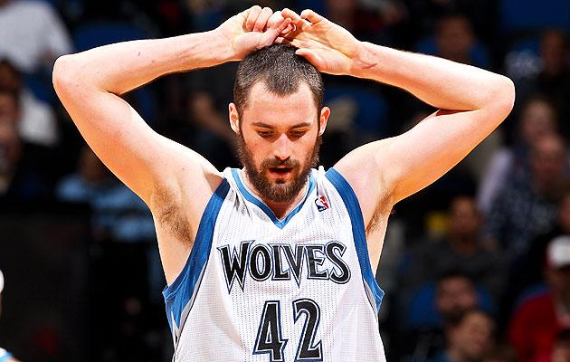 buy online b778d 645e5 Kevin Love unsure about Timberwolves' future