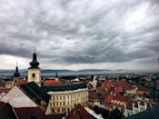 "<p>Sibiu was the largest and wealthiest of the seven walled citadels built in the 12<sup>th</sup> century by German settlers. Take a guided tour through the city to learn more about Romanian culture. <a href=""https://www.tripadvisor.co.uk/Attraction_Review-g295393-d7170999-Reviews-TransylvaniaGuide_Sibiu-Sibiu_Sibiu_County_Central_Romania_Transylvania.html"" rel=""nofollow noopener"" target=""_blank"" data-ylk=""slk:Adela Dadu"" class=""link rapid-noclick-resp"">Adela Dadu</a> gives a tour through Sibiu culture, history, landscape and people. <a href=""https://www.tripadvisor.co.uk/Attraction_Review-g295393-d6105911-Reviews-Sibiu_Tour_Guide-Sibiu_Sibiu_County_Central_Romania_Transylvania.html"" rel=""nofollow noopener"" target=""_blank"" data-ylk=""slk:Florin"" class=""link rapid-noclick-resp"">Florin</a> also gives her own tour through her city of Sibiu. </p>"
