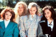 """<p><a class=""""link rapid-noclick-resp"""" href=""""https://go.redirectingat.com?id=74968X1596630&url=https%3A%2F%2Fwww.hulu.com%2Fmovie%2Fheathers-358a31d7-a435-403a-8f38-1d02caed3608&sref=https%3A%2F%2Fwww.marieclaire.com%2Fculture%2Fg2509%2Fmovies-to-watch-before-30%2F"""" rel=""""nofollow noopener"""" target=""""_blank"""" data-ylk=""""slk:watch"""">watch</a><br></p><p>Winona Ryder's always in her element in off-beat dark comedies, and this one sets her in the middle of a high school where her character Veronica gets invited to a join a popular clique of """"Heathers"""" (literally three girls whose names are Heather) until they betray her. Veronica and her partner-in-crime J.D. Dean (Christian Slater) set out to right all the wrongs made against her, in cruel and unusual ways.</p>"""