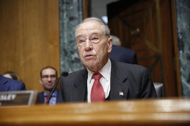 Grassley forging ahead with bill to rein in Trump's tariff powers