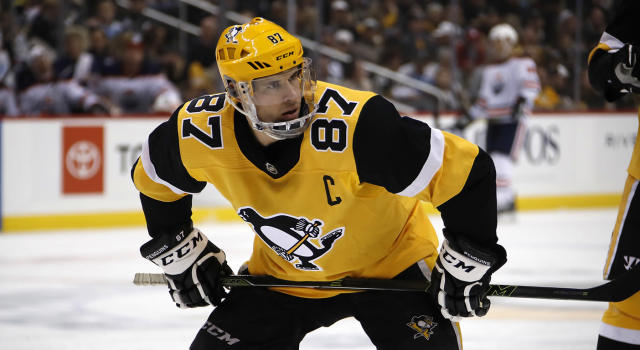 Crosby is thinking about surgery for a sports hernia. (AP Photo/Gene J. Puskar)
